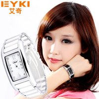 Wholesale Genuine female Korean ladies fashion watches Korean female form diamond waterproof ceramic watch fashion watch female students