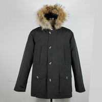 arctic fur - Free Shiping By DHL Brand New Mens Men s Arctic Down Parka With Big Removeable Raccoon Fur Warm Winter Coat
