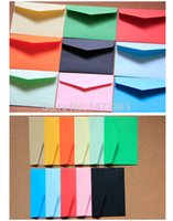 Wholesale Size cm small Cute Paper Envelope for Gifts Stationery Greeting cards Letter Envelope