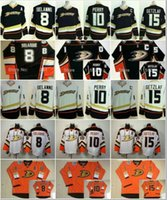 anaheim - Anaheim Cheap Teemu Selanne Corey Perry Ryan Getzlaf Ducks Black Orange Statium Series White Nhl Heritage Hockey Jersey