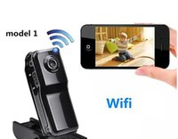 mini camcorder - WiFi spy camera Mini DV Wireless IP Camera Hidden camcorder Video Recorder mini DV NEW MD81 MD81S