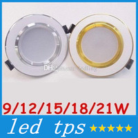 Wholesale Dimmable W W W W W Led Downlight Recessed Ceiling Light Angle Warm Cool White2 Inch