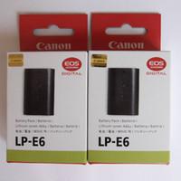 7d battery grip - LP E6 Batteries LPE6 For Canon EOS D D D D Da Mark II III BG E6 Grip LPE6