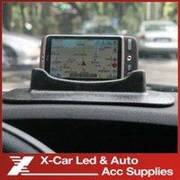 big blue bracket - freeshipping big GPS stent mobile phone car bracket silicone navigation frame Prevent slippery stents
