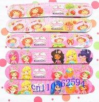 Wholesale set Strawberry SHORTCAKE magnet bookmarks Lovely bookmark Cartoon Fridge Magnet Ruler function