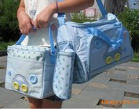 Wholesale 3 colors Waterproof Diaper Bag car design Stroller Bag Mammy Bag Nappy Bag Messenger bag
