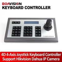 axis ip ptz - 4D Axis Joystick IP PTZ Keyboard Controller Support Hikvision Dahua XM Aipstar IP Security CCTV Speed Dome PTZ Camera