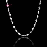 Wholesale quot mm HEART pointed star Chain L Stainless Steel Floating Locket Chains Necklace DIY Jewelry Findings DL