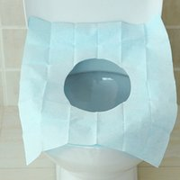 toilet paper - Disposable toilet pad travel portable waterproof paper toilet seat covers Bathroom Products Toilet seat cushion