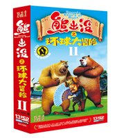 Wholesale Any newest Region Free High Quality Workout DVD Movies Tv Series Music CD Cartoon Boonie Bears DHL Free Within Days
