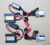 achat en gros de kit hid h7-Expédition gratuite HID Xenon Kit H1 H3 H7 H8H9 H10 H11 9005 9006 880, peuvent être des modèles mixtes