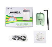 Wholesale High Power ALFA AWUS036NH mw Wifi USB Adapter db Antenna Ralink3070 Chipset Dropshipping