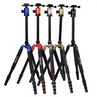 1800 aluminum tripod heads - F16301 ZOMEI Z Z818 Professional Portable Aluminum DSLR Camera Tripod Traveling Camcorder Monopod Ball Head Carrying Bag