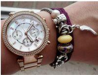 bag buckles - luxury michael fashion watch quartz sport Stainless Steel Men s women s Watches opp bag packaging lkkm