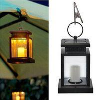 beach candle - Vintage Solar Powered Lamp Waterproof Hanging Umbrella Lantern Candle Lights Led with Clamp Beach Umbrella Tree Garden Yard Lawn Lighting