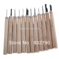 Wholesale 12 Piece Wood Carving Hand Chisel Tool Set Woodworking Professional Gouges New order lt no track