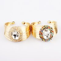 beaded watch designs - B269 New Arrival Quadrant Design Fashion Inlay Big Quadrant CZ Diamond Watch Bangle For Women colors choice