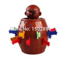 al por mayor niños sitio-sitio de juegos nuevos niños calientes Humor Infantil de Lucky puñalada Pop Up adminículo del juguete pirata de juguete Juego de barril