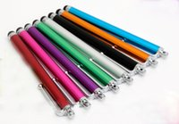 Wholesale Nice Metal Stylus Pen Capacitive Screen Touch Pen For Capacitance Screen Phone for iPhone colors