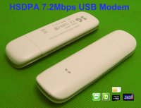 Carte de données 7.2Mbps mobile Broadb 2100MHz TF de soutien 3G Dongle avec SIM Card Slot fenêtres de soutien 7 8 Android Tablet PC
