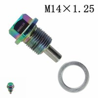 Wholesale Racing NEO CHROME M14X1 Magnetic Oil Drain Plug Oil Drain Sump Nut for Ford
