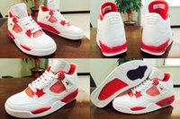 atlanta shoes - With Box High Quality Hot Sale Retro IV Alternate Atlanta Men Basketball Sport Sneakers Trainers Shoes