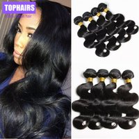 Wholesale New arrive queens hair products malaysian virgin hair body wave human hair bundles deal natural color HBD hair extensions
