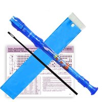 Wholesale Professional Music Instrument Clarinet Holes Recorder Clarinet German Clarinet with Manual Cleaning rod w Blue