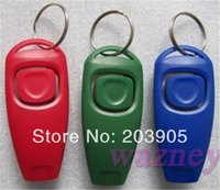 Wholesale Dog whistle in Clicker whistle Pet Training Obedience Pet Trainer whistle Combination Trainer