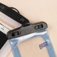 pvc manufacturers - New For iphone Mobile phone Swimming PVC mobile phones waterproof bag manufacturer general PVC waterproof bag Dry Case Cover For iPh