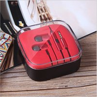 Wholesale Xiaomi piston II earphones universal mm metal xiaomi stereo HIFI headphone headset with colors in crystal box for iphone sumsung redmi