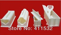 Wholesale sushi mold soshi maker set tools DIY cutter hot sale high quality with retail box