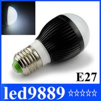 Wholesale High power CREE W Led globe bulb E27 E14 B22 GU10 AC V LED Light bubble Ball Lamps spot li