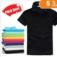 Wholesale LOGO CAN BE PRINTEDPlus size XXXL t shirt men Fashion Cotton Short sleeve t shirt sports jerseys golf tennis undershirts