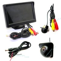 Wholesale car quot HD no pixels Monitor Cover Wide Angle Back Rear View Camera