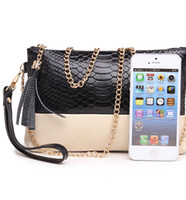 best new cell phones - The best selling products special New Europe crocodile leather chain single shoulder bag hand bag dinner bag leather handbag