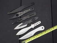 bbq box - 201506 fly knife BBQ knife tactical camping knife knives with nylon different styles hunting knife with retail box B183L