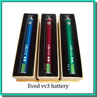 Cheap 1300mAh evod vv Best Evod v v3 1300mah latest evod battery
