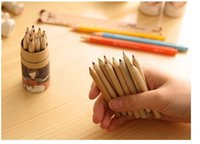 Wholesale Cute Color Pencil Drawing Small Painting Pen colours set