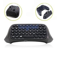 Wholesale 2 g Mini Wireless Chatpad Message Keyboard for Xbox One Controller Black