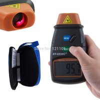 Wholesale Digital Laser Tachometer RPM Meter Non Contact Motor Speed Gauge Revolution Spin