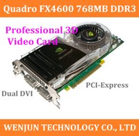 Wholesale High Quality for Quadro FX4600 D PCIe x16 MB Dual DVI High End Graphics Card for CAD DCC and visualization applications order lt no trac