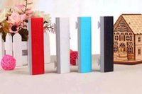 Wholesale new style Power Bank mah For moble phone With USB Cable Portable Battery Charger Powerbank