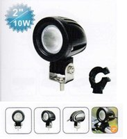 Wholesale 10w V V Inch Cree led Work Light Spot Light for Motorcycle Electric Vehicle Bike IP67 Spot Beam Flood Beam