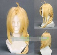 average gram - New wig Cosplay Full metal alchemist Edward YiErLi Grams Golden Long Wig
