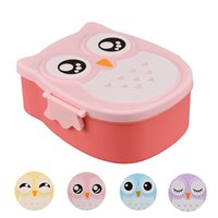 Wholesale Owl Lunch Box Food Container Storage Box Portable Bento Box