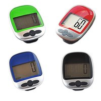 Wholesale LCD Display Pocket Pedometer Digital Step Distance Calories Counter Outdoor Multi function Sport Big