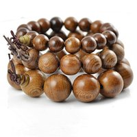 authentic african jewelry - Authentic African wenge bracelet beads mm wenge sandalwood prayer beads bracelet men jewelry elastic line