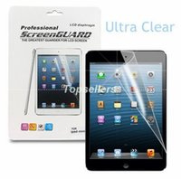 Cheap Clear LCD Screen protector for ipad air 2 3 4 mini retina 3 Samsung galaxy tab 4 3 S 7.0 8.0 8.4 10.5 10.1 tablet pc with retail package
