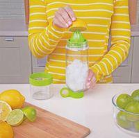 Wholesale Hot Sell Citrus Zinger Fruit Infusion Water Bottle Lemon cup Water Bottle with Citrus Juicer Sport Water Bottle Epacket